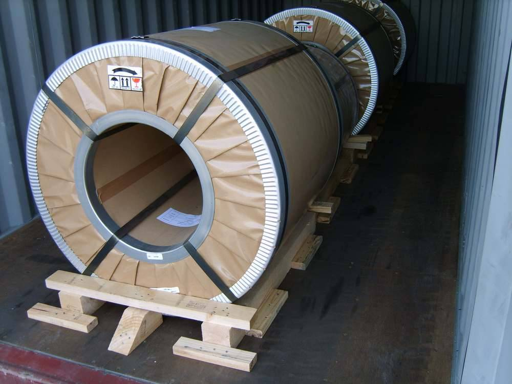 1200mm / 1220mm JIS C2552, ASTM A677M, EN10106, GB, T2521 Cold Rolled Steel Coils / Coil