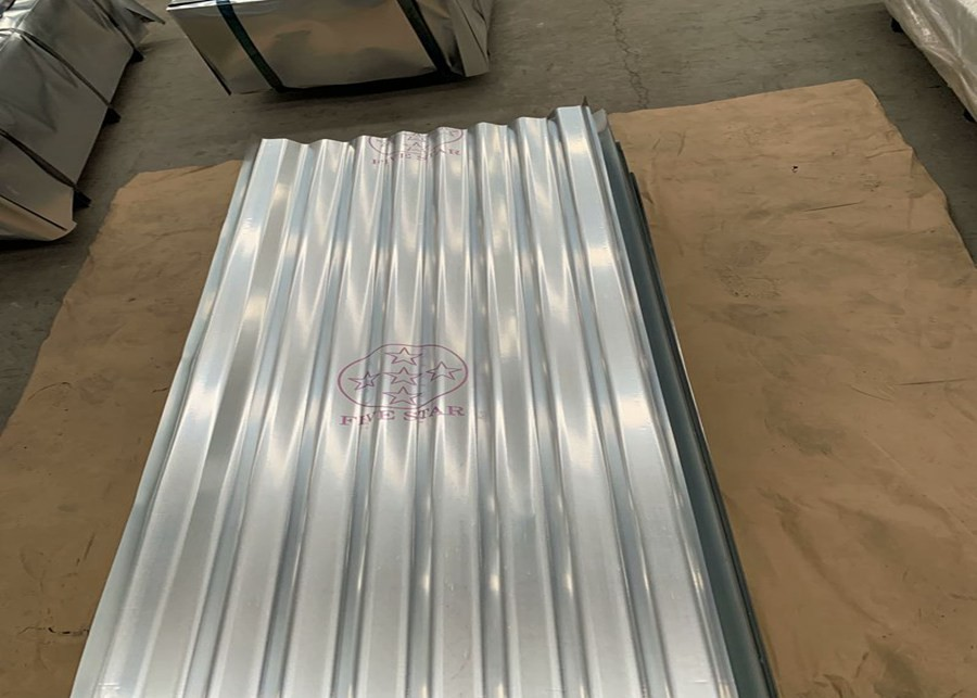 0.15-1.5mm Thickness ASTM A653 Galvanized Corrugated Roofing Sheets