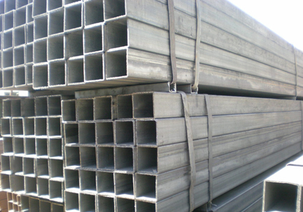 Square, Rectangle Q215, Q235 oiled / black color / galvanized Welded Steel Pipes / Pipe